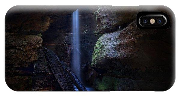 Blue Mountains Waterfall Phone Case by Yan Zhang