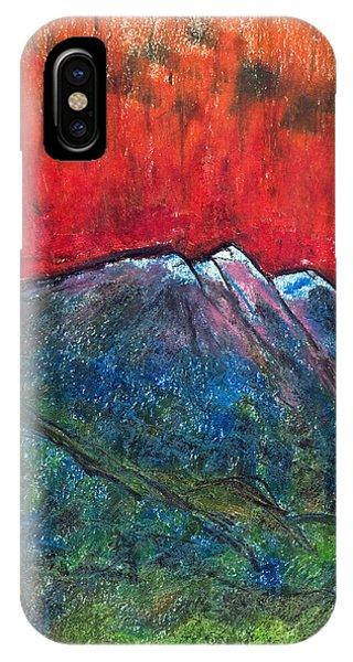 Blue Mountains Phone Case by Yuri Lushnichenko