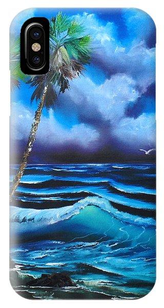 Blue Ocean Wave IPhone Case