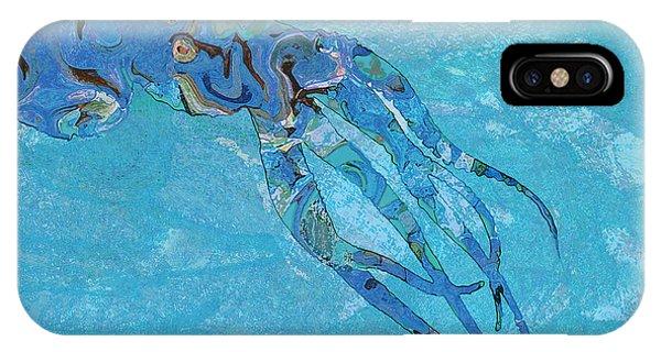 Blue Octopus IPhone Case