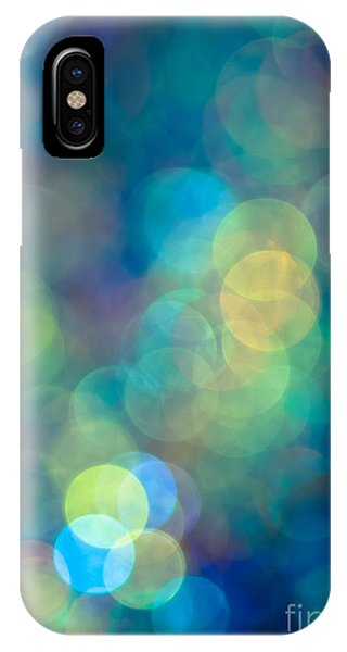 Pattern iPhone Case - Blue Of The Night by Jan Bickerton