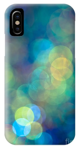 Background iPhone Case - Blue Of The Night by Jan Bickerton