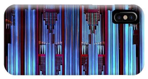 Blue Organ Pipes IPhone Case