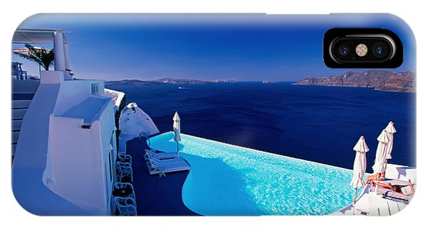 Blue Paradise IPhone Case