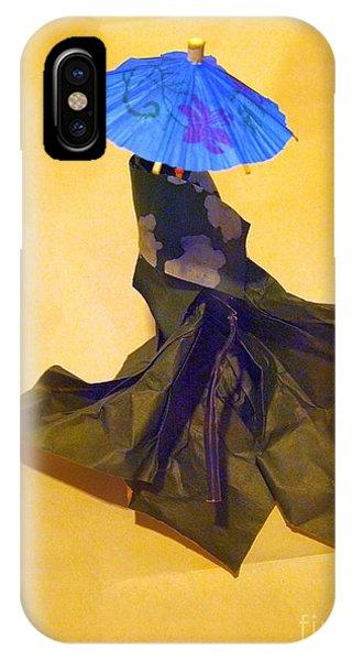 Blue Parasol IPhone Case
