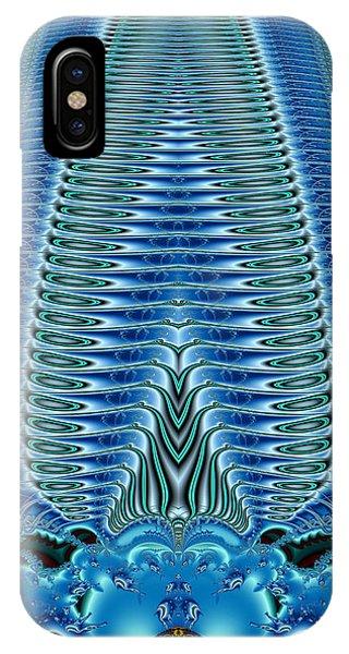 Blue Plume IPhone Case