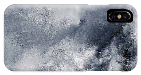 Blue Poseidon IPhone Case