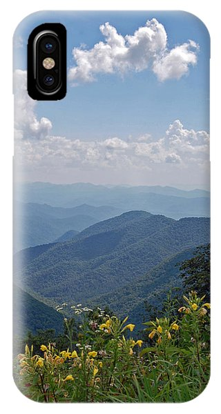 Blue Ridge Blossoms Phone Case by Mary Anne Baker
