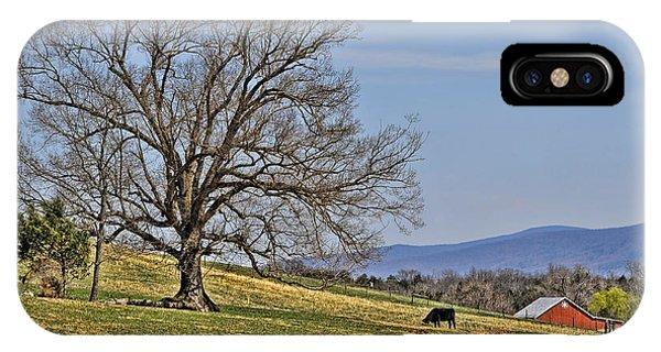 Blue Ridge Farm IPhone Case