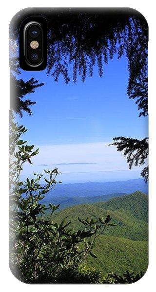 Blue Ridge Parkway Norh Carolina IPhone Case