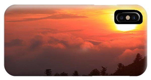 Blue Ridge Sunrise Great Balsam Mountains IPhone Case
