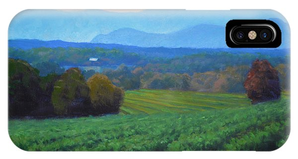 Salamanders iPhone Case - Blue Ridge Views by Armand Cabrera
