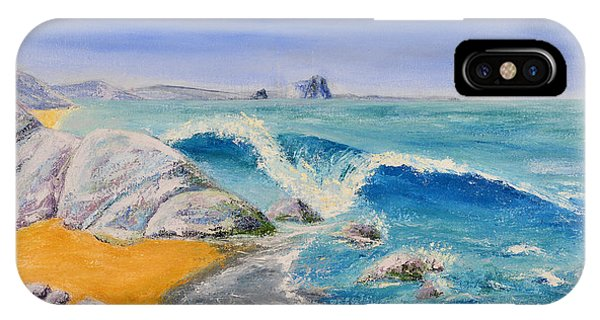 Blue Rocks IPhone Case