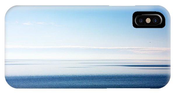 Blue Sea Scene IPhone Case