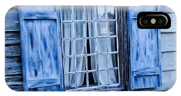 Blue Shutters IPhone Case