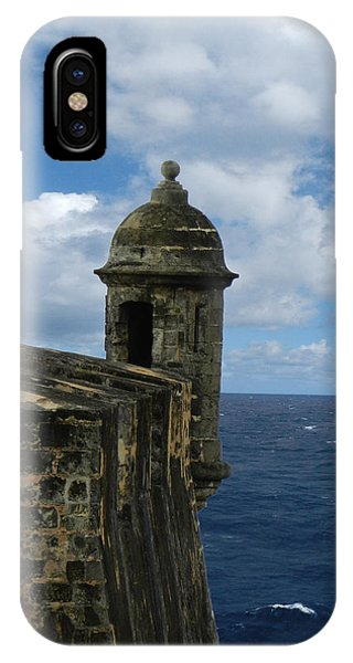 Blue Skies On The Horizon IPhone Case