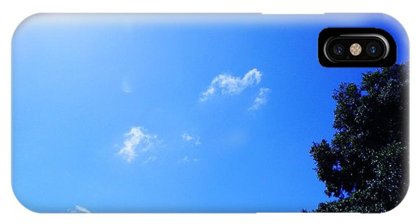 Blue Sky And Sunshine IPhone Case