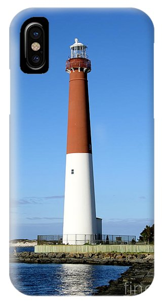 Blue Sky Blue Sea  And Barnegat Light IPhone Case