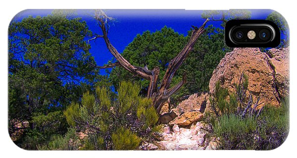 Blue Sky Over The Canyon IPhone Case