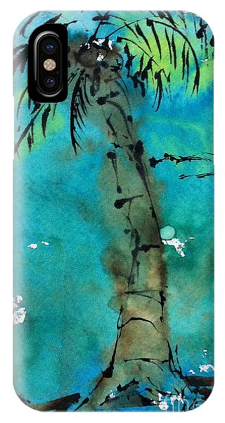 Blue Sky Palm IPhone Case
