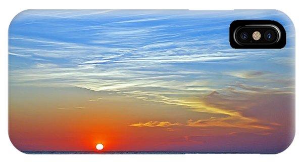 Blue Sky Sunset IPhone Case