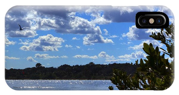 IPhone Case featuring the photograph Blue Sky by Tyson Kinnison