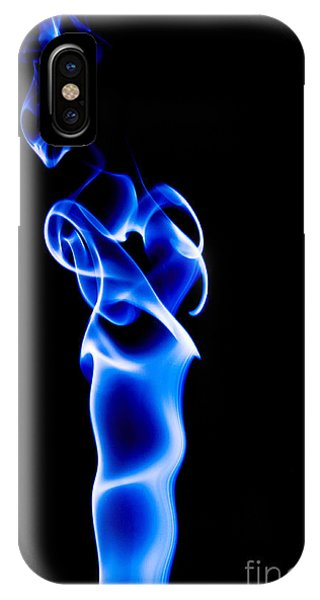 IPhone Case featuring the photograph Blue Smoke by Yew Kwang