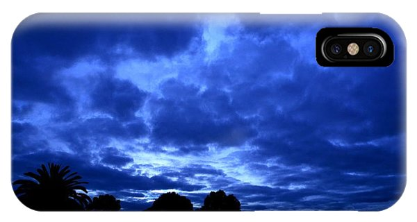 Blue Storm Rising IPhone Case