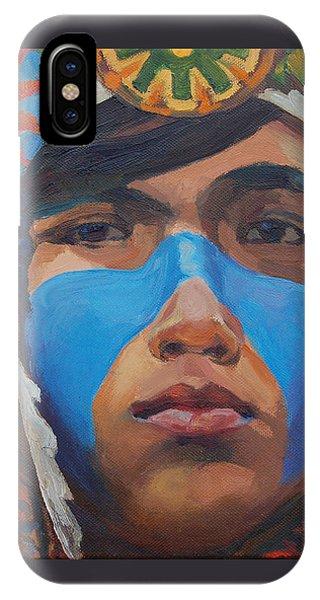 Blue Stripe IPhone Case