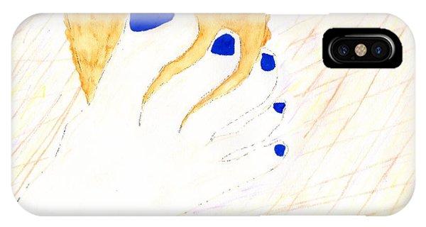 Blue The Big Toe IPhone Case