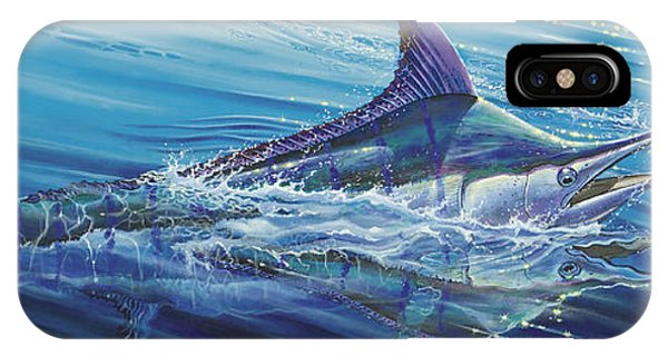 Skipjack iPhone Case - Blue Tranquility Off0051 by Carey Chen