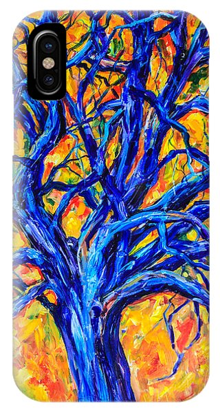 Blue Tree IPhone Case