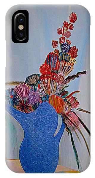 Blue Vase 22 IPhone Case
