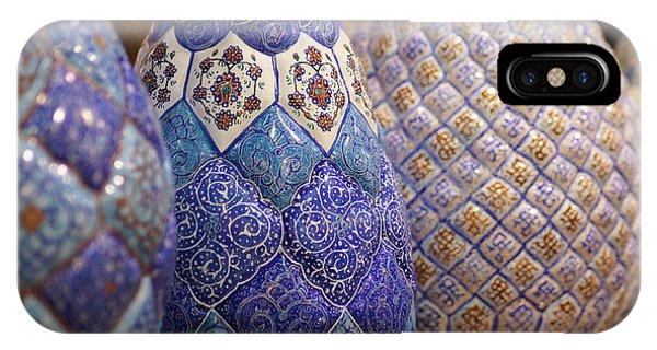 Blue Vases IPhone Case