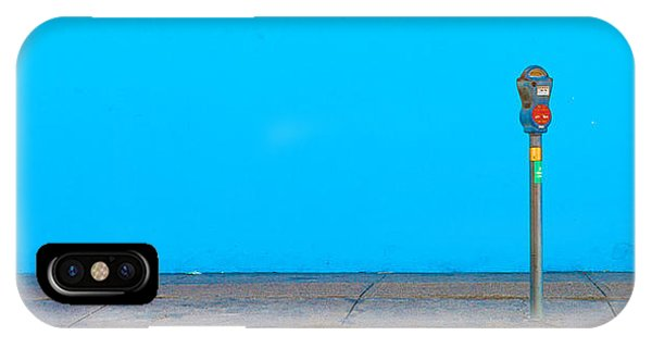 Blue Wall Parking IPhone Case