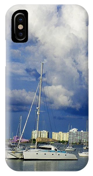 Blue  Water Phone Case by Carolyn Bistline