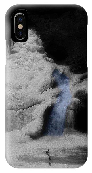 Blue Waterfall Frozen Landscape IPhone Case