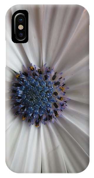 Blue-white Loveliness IPhone Case