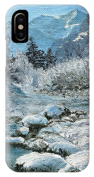 Blue Winter IPhone Case
