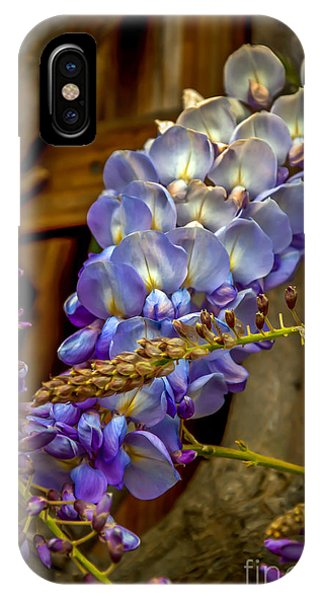 Blue Wisteria IPhone Case