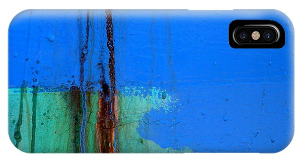 Blue With Streaks 2 IPhone Case