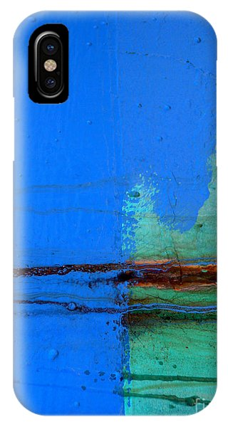 Blue With Streaks IPhone Case