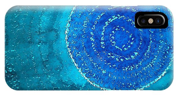 Blue World Original Painting IPhone Case