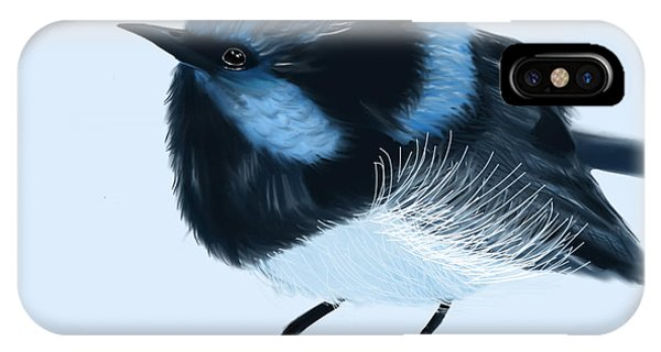 Blue Wren Beauty IPhone Case