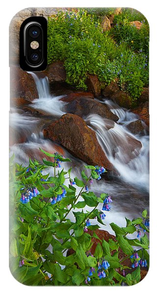 Bluebell Creek IPhone Case