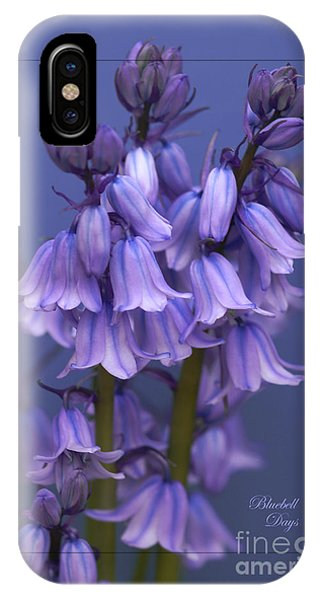 Bluebell Days IPhone Case