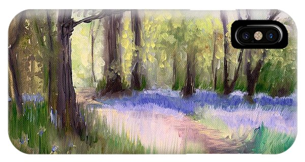 Bluebells At Dusk IPhone Case