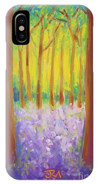Bluebells Phone Case by Jedidiah Morley