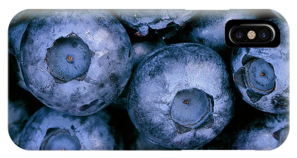 Blue Berry iPhone Case - Blueberries by Martin Bond/science Photo Library