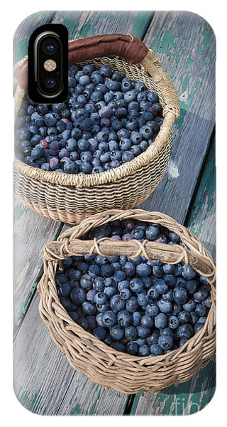 Blueberry Baskets IPhone Case